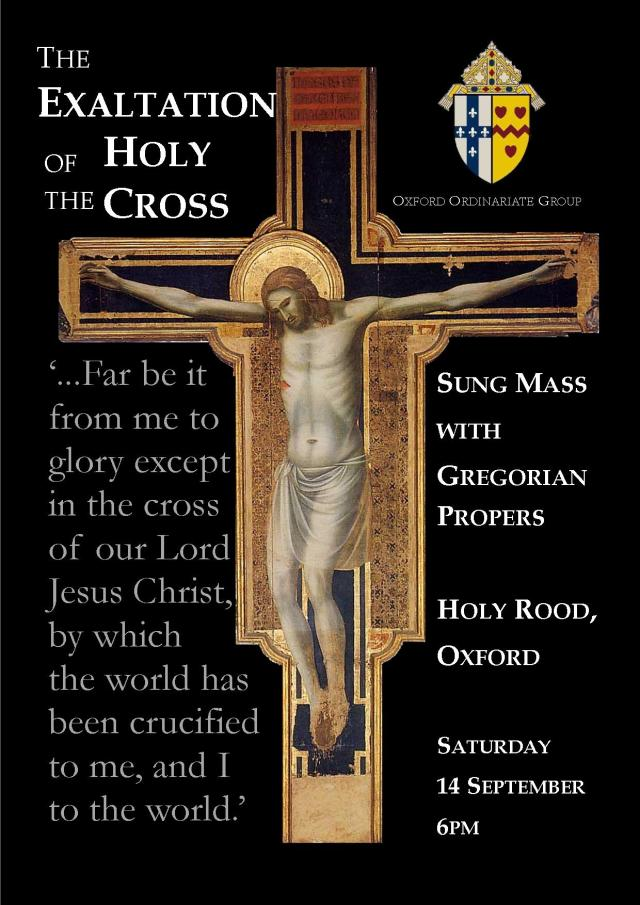 holy cross day poster