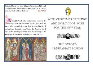 Oxford Christmas Card